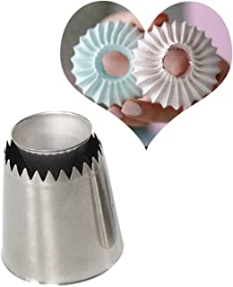 Russian Piping Tips Baking Piping Nozzles Sultan Ring Cookies Mold Kits, Wilton Cake Decorating Supplies, Best Kitchen Gift (1 Pack)