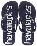 Havaianas Top Logomania, Infradito Unisex-Adulto, Blu (Navy Blue 0555), 45/46 EU