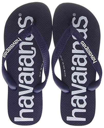 Havaianas Unisex-Erwachsene Top Logomania Zehentrenner, Blau (Navy Blue 0555), 45/46 EU