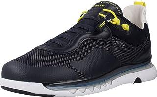 Geox Scarpa Sneaker Casual LEVITA U029XA 06K85 Tessuto a Maglia + Nappa