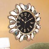 LCLZ Euro Americano Movimiento Jane Shell Europea del Reloj de Cuarzo del Reloj del Hotel Creativo Moderno de la Sala de Estar silencioso Reloj de Pared de 67 * 67 (cm) Buena Movimiento