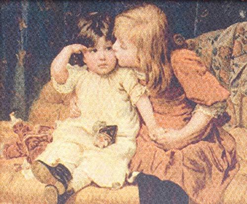 Melody Jane Poupées Victorien Enfants Photo Toile Peinture Miniature Accessoire