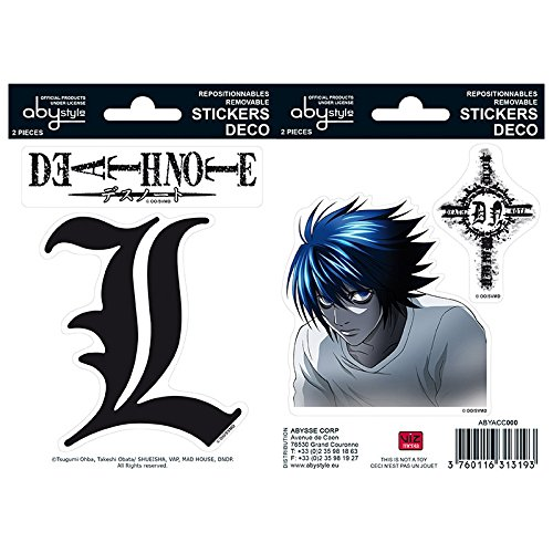 ABYstyle - DEATH NOTE - Stickers - \