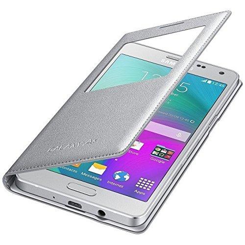 Samsung EF-CA500BSEGWW CASE Sview Galaxy A5 Silver