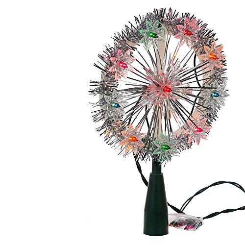 Kurt Adler UL 10-Light Multi Snowflake Treetop