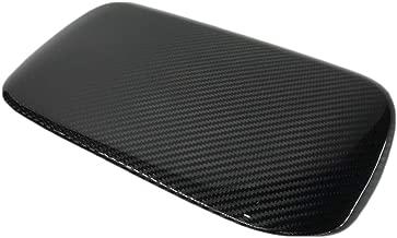 GOGOCARBON Instrument Panel Console Hood Cover Fits for Subaru WRX 2015-2018 Dry Carbon Fiber Black Color