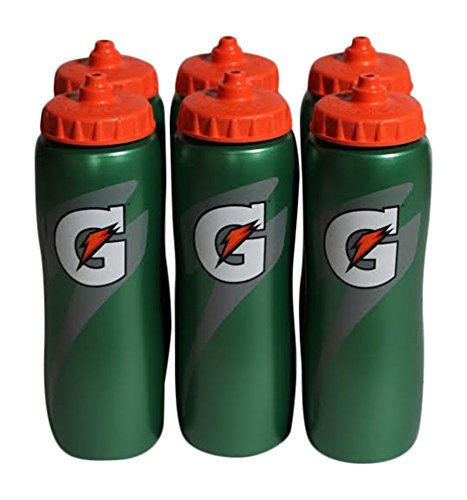Gatorade 32 Oz Squeeze Water Sports Bottle - Value - New Easy Grip Design for 2014 by Gatorade