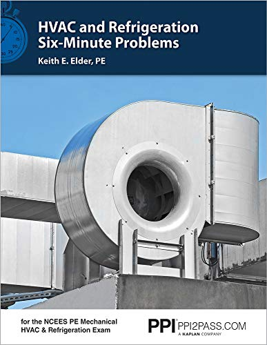 Download HVAC and Refrigeration Six-Minute Problems 1591265525