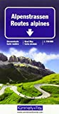 Alpenstrassen Strassenkarte: Massstab 1:750 000 (Kümmerly+Frey Strassenkarten) - Hallwag Kümmerly+Frey AG
