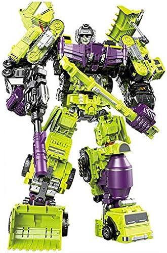 Kinder-Roboter-Spielzeug-Modell 6 in 1 Deformations-Roboter-Technikauto-Spielzeugauto (Style   1)
