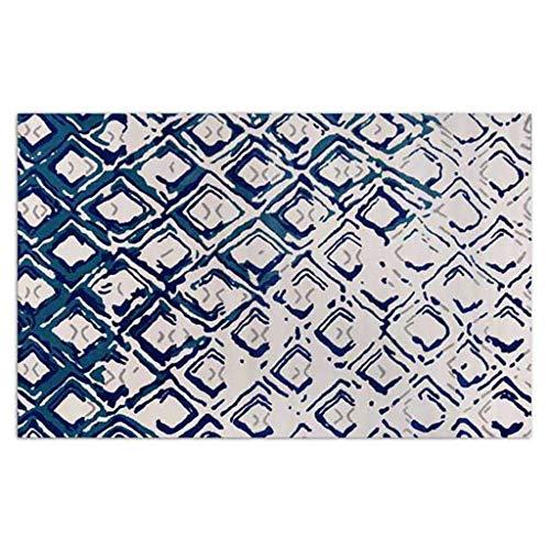 HLD Vierkante glazen woonkamer slaapkamer nachtkastje tapijt salontafel Tapijtpads (Color : B, Size : 160cm*230cm)