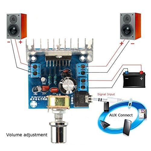 Fantastic Deal! Exiron 1PCS AC/DC 12V TDA7297 2x15W Digital Audio Amplifier DIY Kit Dual-Channel Mod...