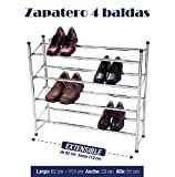 ZAPATERO 4 BALDAS GUARDA 24 PARES en promoción