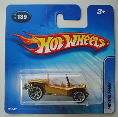 Hot Wheels Gold Meyers Manx #139 Short Card