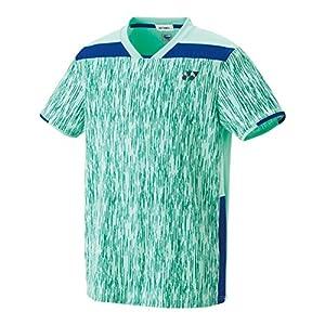 [ヨネックス] テニスウェア ゲームシャツ(フィットスタイル) 10267 [ユニセックス] ミントブルー (526) 日本 M (日本サイズM相当)
