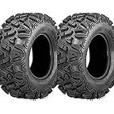 Combat Set of 2 ATV UTV Tires (26X9-R12)