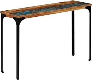 vidaXL Stolik konsolowy lite drewno z odzyskanego drewna biuro stolik kawowy stojak ekspozycyjny