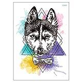 Tatuaje para perros Husky Tatuaje para perros Festival Tatuaje LC602