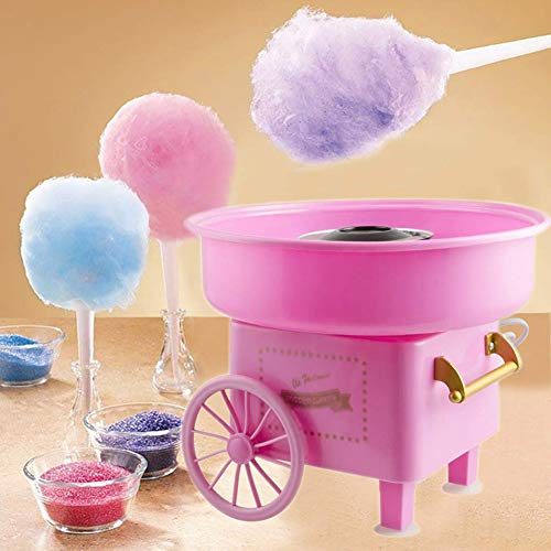 TINE Sucre Floss Coton Machine Portable Cotton Candy Machine De Sucre Sucre Cotton Candy Floss Maker Machine pour La Famille Birthday Party