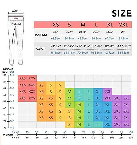 LAPASA Pantaloni da donna L01 (M, Nero)