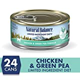 Natural Balance L.I.D. Limited Ingredient Diets Wet Cat Food, Chicken...