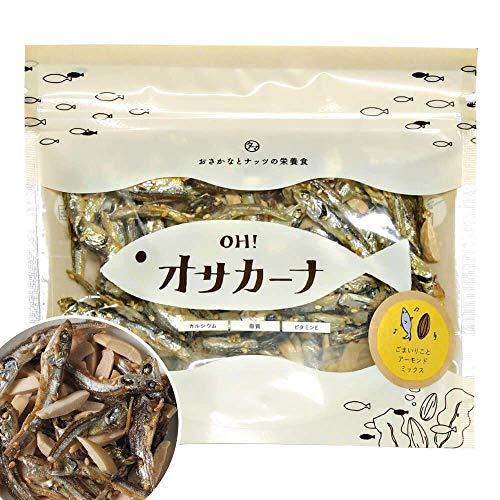 OH!オサカーナ100g(いりこ&アーモンド)小魚 アーモンド #元気いただきますプロジェクト
