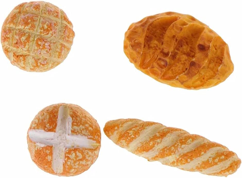 Fashionable WDXIN Mini Bread Tiny Accessories Dollhouse Decoration Food National products