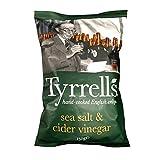 Tyrrell's Sachets de Chips Sel de Mer/Vinaigre de Cidre 150 g