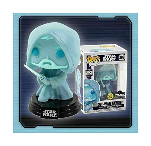 Funko POP! Star Wars #392 - OBI-Wan Kenobi GITD Limited to 3000 Celebration Exclusive
