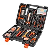 AWANFI Tool Kit 100 Piece DIY Home Household Toolkits for Daily Repair