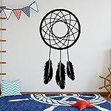 JXMN Atrapasueños Tribal con calcomanías de Pared atrapasueños Pegatinas decoración para el hogar y la habitación del Hotel extraíble 102x205cm