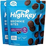 HighKey Snacks Keto Low Carb Food Chocolate Brownie Cookie Bites - Paleo, Diabetic Diet Fr...