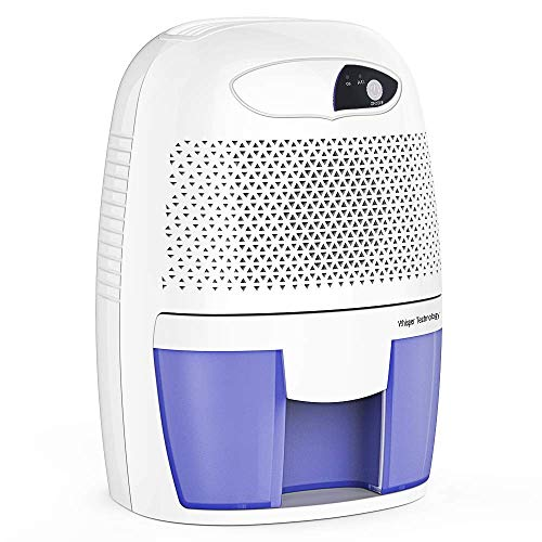 Fantastic Prices! OPcFKV 500ML Compact and Portable Mini Dehumidifier Ultra Quite in Home Closet War...