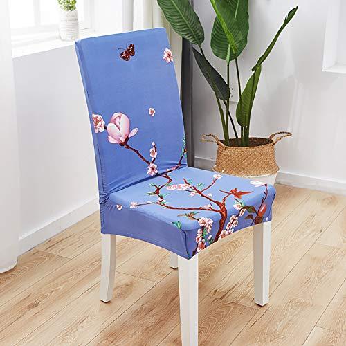 AKDSteel Phalaenopsis Stretch-Stuhlhusse, abnehmbar, bedruckt, für Hochzeiten, Bankette, Hotels, Klappstühle