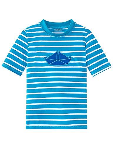 Schiesser jongens hemd Aqua Bade-Shirt