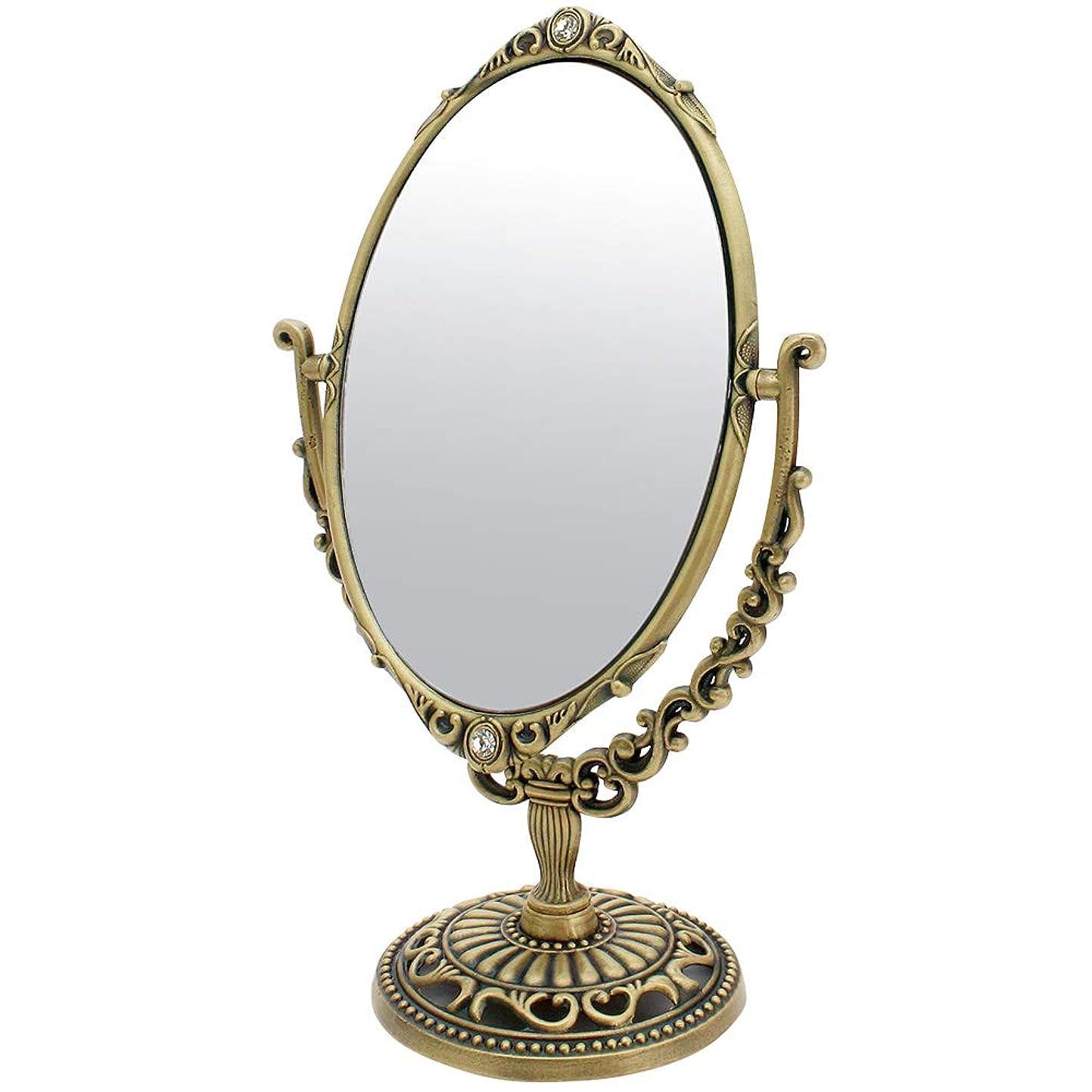 マート生む前に卓上ミラー 鏡 化粧鏡 シャビーシック デコレーションミラー (卓上ミラー S-デコレーション)