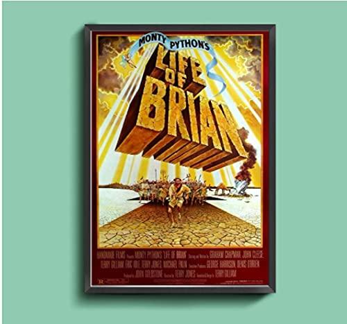 Monty Pythons Leben von Brian Klassischer Film Leinwand Kunst Poster Home Wandmalerei Dekoration (Kein Rahmen)-50x75cm Kein Rahmen