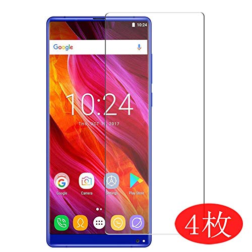 【4 Pack】 Synvy Screen Protector for Oukitel Mix 2 MIX2 0.14mm TPU Flexible HD Clear Case-Friendly Film Protective Protectors [Not Tempered Glass] New Version