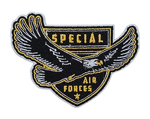 Bundeswehr Air Forces Adler Emblem Patch zum Aufbügeln   Militär Patches, Luftwaffe Aufnäher für Rucksack, Airsoft Abzeichen Finally Home