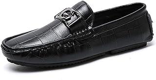 ドライビングシューズ メンズ ローカット ビジネスシューズ フォーマル ラウンドトゥ スリッポン ビット 結婚式 冠婚葬祭 短靴 結婚式 スニーカー カジュアルシューズ モカシン メンズ PU革靴 ローファー 黒 [ムリョ]