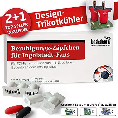 Alles für Ingolstadt-Fans by Ligakakao.de Home-Trikot ist jetzt Mein TRIKOTKÜHLER Geschenk-Set (2X Trikots + 1 ZÄPFCHEN)