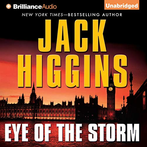 Eye of the Storm Audiobook By Jack Higgins cover art