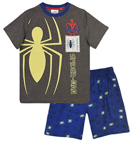 Spiderman Niños Pijama Corto