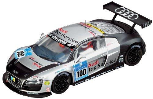 Carrera Evolution - voitures pour circuit - 20027321 - 1/32 eme analogique - Audi R8 LMS Team Abt Sportsline, 24h Nürburgring 2009 \