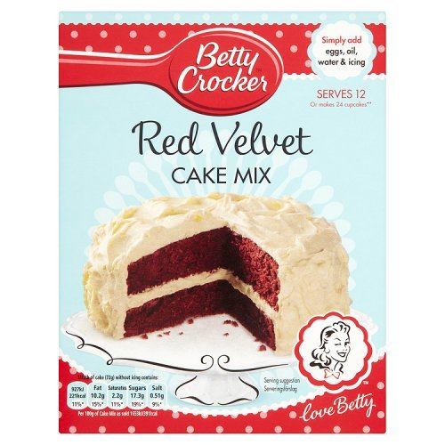 Betty Crocker Red Velvet, Bizcocho - 425 gr.