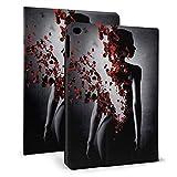 Perfume caso Fit Tablet iPad mini4/5 7.9 pulgadas con Auto Sleep/Wake Ultra Slim ligero soporte cuero caso