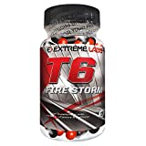 Extreme Labs T6 Fire Storm Level 4 Fat Burner - Pack of 60 Caps