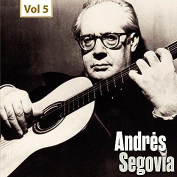 Milestones of a Guitar Legend - Andrès Segovia, Vol. 5
