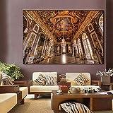 France Versailles château Affiche Toile Peinture Affiches Impressions rétro Mur Art Photo Nordique décoration de la Maison 60x90cm sans Cadre