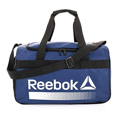 Reebok Warrior II Small Gym Bag for Men and Women, Compact Sports Duffle Bag